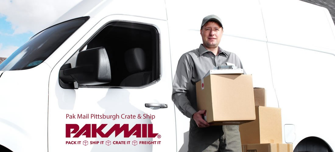PICK-UP AND ONSITE PACKING & CRATING SERVICES