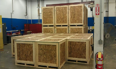 Custom Crating Greater Pittsburgh, Eastern Ohio, Western Pennsylvania, West Virginia